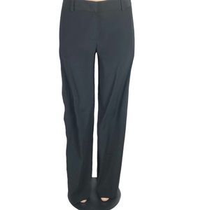 DKNY Black Wide Leg Pants with Leg Side Buttons 8